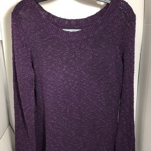 💜Maurices Women's Purple Knit Sweater